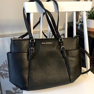 Dana Buchman Black Cherry Tote Bag